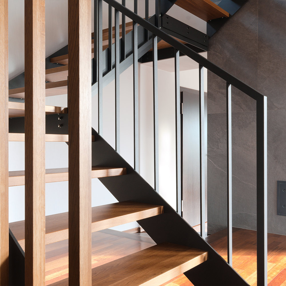 schody stalowe dębowe drewniane Kraków