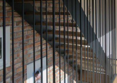 balustrada stalowa rurki